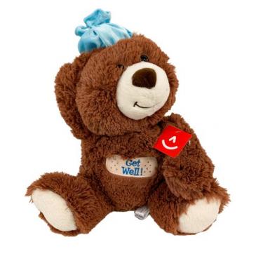 "Get Well Soon Bear - 12"" Add-On"