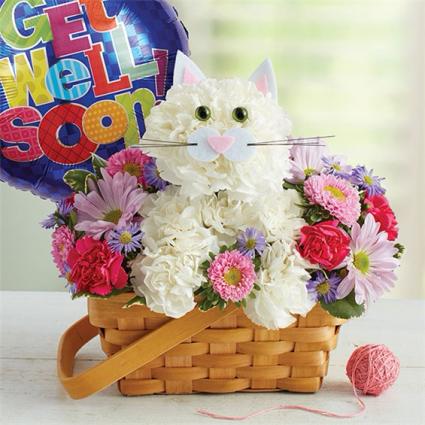 Fabulous Feline Floral Delivery