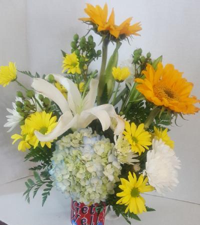 Get Well Soon Floral Arrangement