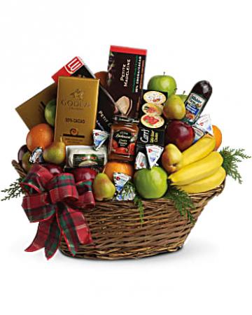 Ultimate holiday basket