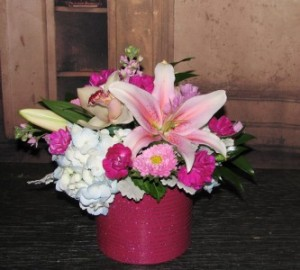Dazzing in Pink  in Stevensville, MT | WildWind Floral Design Studio