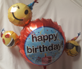 SUPER SIZED MYLAR BALLOONS AVAILABLE! THIS  BALLOON SHOWN IS ONE EXAMPLE OF THE SIZE. WE HAVE MANY DIFFERENT STYLES . ALL HAPPY BIRTHDAY. IF THIS ONE IS NOT AVAILABLE WE WILL SELECT A DIFFERENT SUPER SIZED HAPPY BIRTHDAY and it includes a weight too..