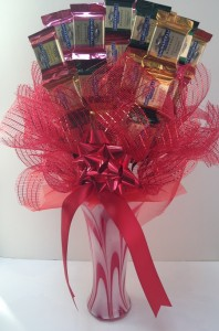 GHIRADELLI Candy Vase