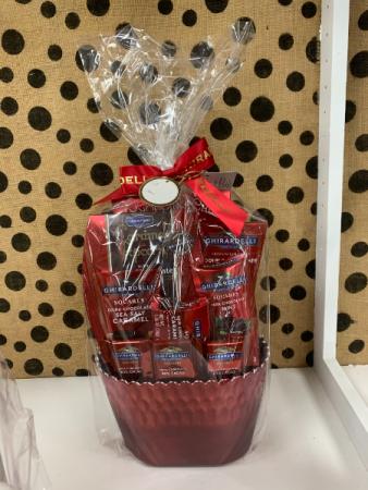 Ghirardelli Chocolate Basket  Sweet Lovers Basket