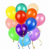 12 latex balloons with weight to send alone or add To arrangement!
