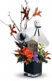 GHOSTLY GARDENS BOUQUET Halloween Arrangement in Ridgecrest, CA | THE FLOWER SHOPPE