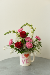 Giant LOVE mug