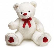 Giant Plush Valentine Bear!