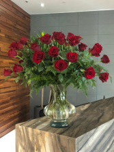 Giant Red Rose Bouquet Rose Arrangement