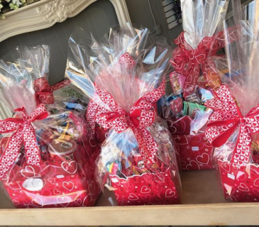 Gift basket full of treats Any Occasion Gift basket