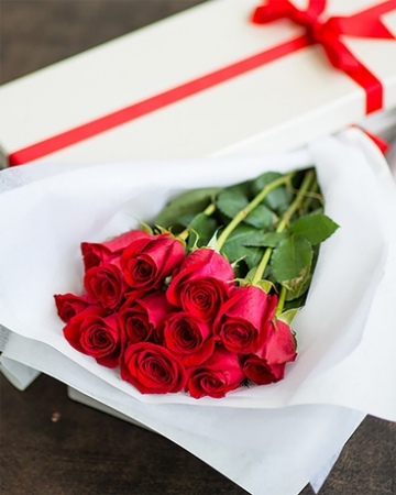 Gift Boxed Roses