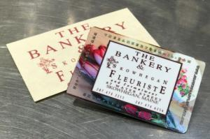 Gift Card! Redeemalbe at The Bankery & Skowhegan Fleuriste! in Skowhegan, ME | SKOWHEGAN FLEURISTE & FORMALWEAR