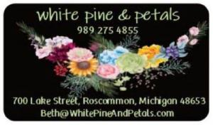 Gift Cards Call for custom card amounts in Roscommon, MI | White Pine & Petals