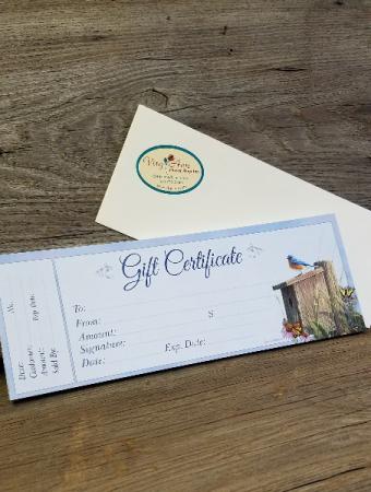 Gift Certificate Gift