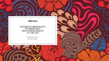 Gift Certificate No Expiration Date