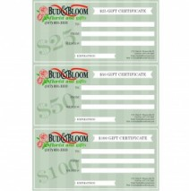 Gift Certificates Gift Items