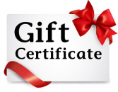 Gift Certiticate