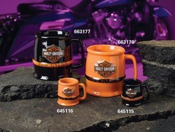 Harley Davidson Mug or Shot Glass* Fine Gifts