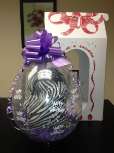 Gift-In-A-Balloon Balloons