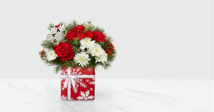 GIFT OF JOY TABLE ARRANGEMENT in Peoria Heights, IL | The Flower Box