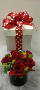 Gift of Love Rose Arrangement