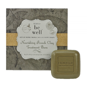 Gift Set -  French Clay Treatment Bars  Spa Soap - Nourishing French Clay in Plainview, TX | Kan Del's Floral, Candles & Gifts