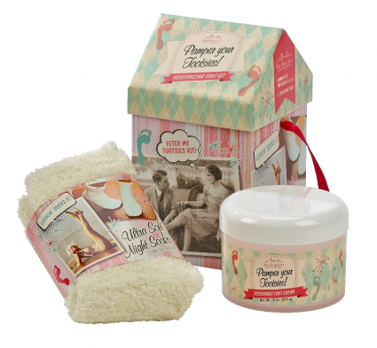 Gift Set Pamper Your Tooties Pepperminted Scented Foot Spa