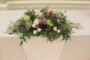 Gift Table Arrangement Fresh Oblong Arrangement  in Farmville, VA | CARTERS FLOWER SHOP