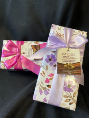 Gift wrapped Assorted boxed chocolates  in Red Lake, ON | FOREVER GREEN GIFT BOUTIQUE