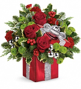 Gift Wrapped Bouquet  in Clinton, AR | Main Street Florist & Gifts