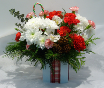 GIFT WRAPPED Christmas Arrangement
