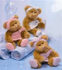 Pampering Bears 2 sizes* Fine Gifts in Whitesboro, NY | KOWALSKI FLOWERS INC.