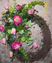 Single Wreath PERMANENT BOTANICALS