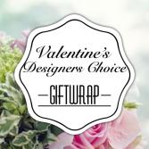 Giftwrap Designers Choice Valentine's Day
