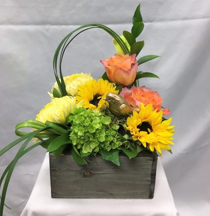 Gilded Joy Fresh Floral Design