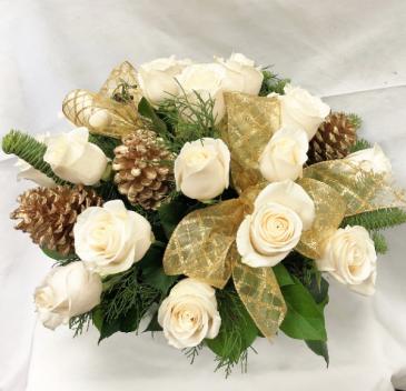 Gilded Rose Fresh Floral Design