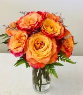 Ginger Roses  Anniversary Flowers