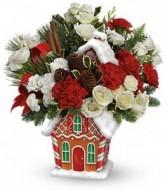 Gingerbread Cookie Jar Bouquet Keepsake