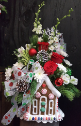 Gingerbread House Charm Christmas * Local Only