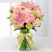 Perfect Pastels Vase arrangement
