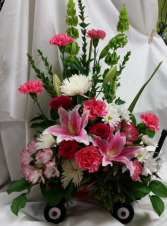 Girl Radio Flyer Fresh Floral Design