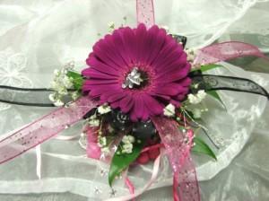 Girls Wrist Corsage Wedding Flowers in Herndon, PA | BITTERSWEET DESIGNS BY LORRIE