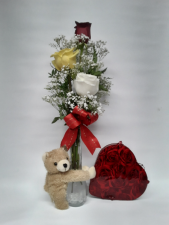 Give me a hug flower arrangement