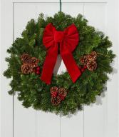Christmas Fresh Wreath Class Fresh Wreath