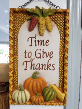 Give Thanks Wall Art