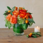 Orange Burst Arrangement