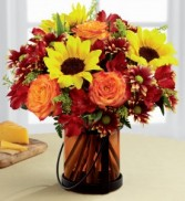 GIVING THANKS BOUQUET Fall Arrangement