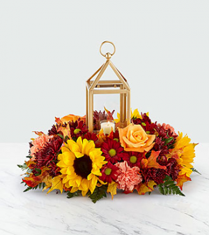 Giving Thanks Centerpiece  in Whitehall, PA | PRECIOUS PETALS FLORIST