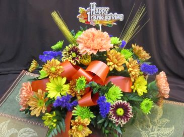 Giving Thanks Centerpiece of Value *Local Delivery Only