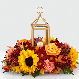 The FTD Giving Thanks Lantern Centerpiece